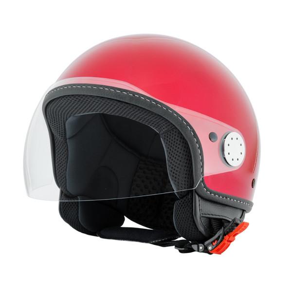 """Jet-Helm Vespa """"VISOR 2.0"""", rosso vignola 880/A Gr.L"""