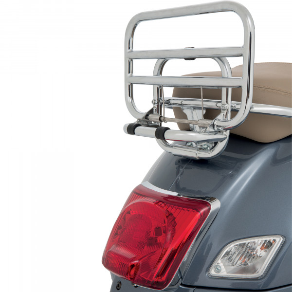 Gepäckträger klappbar chrom Vespa GTS hinten, chrom