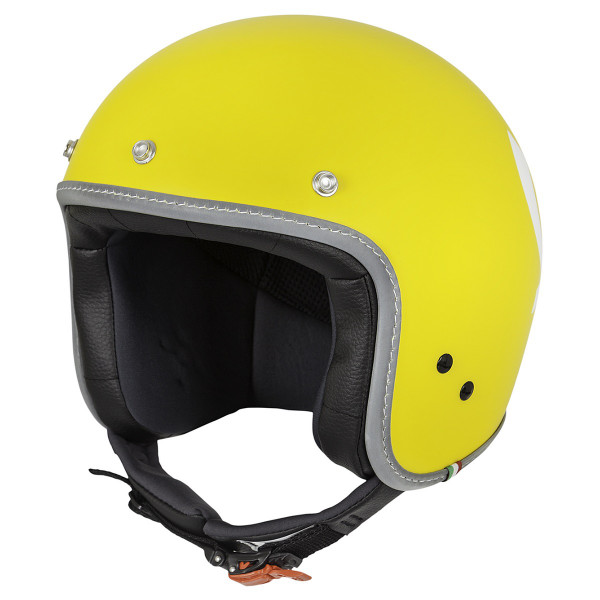 "Jet-Helm Vespa ""COLOR"" matt-gelb Gr.M"
