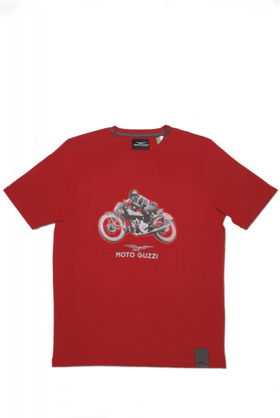 T-Shirt MG Garage rot m XL
