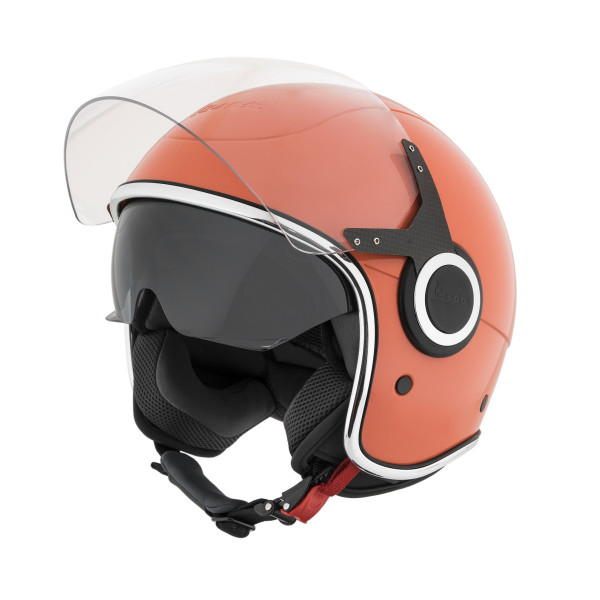 "Jet-Helm Vespa ""VJ"" rosa corallo 889/A Gr.XS"