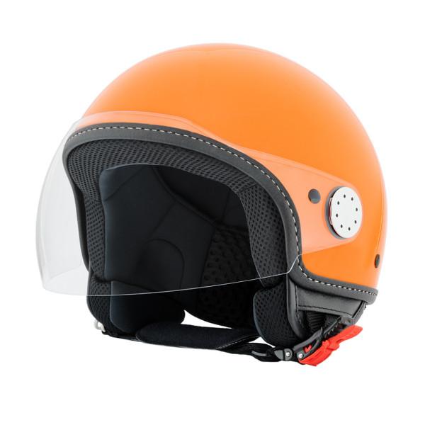 "Jet-Helm Vespa ""VISOR 2.0"", arancio tramonto 890/A Gr.XS"