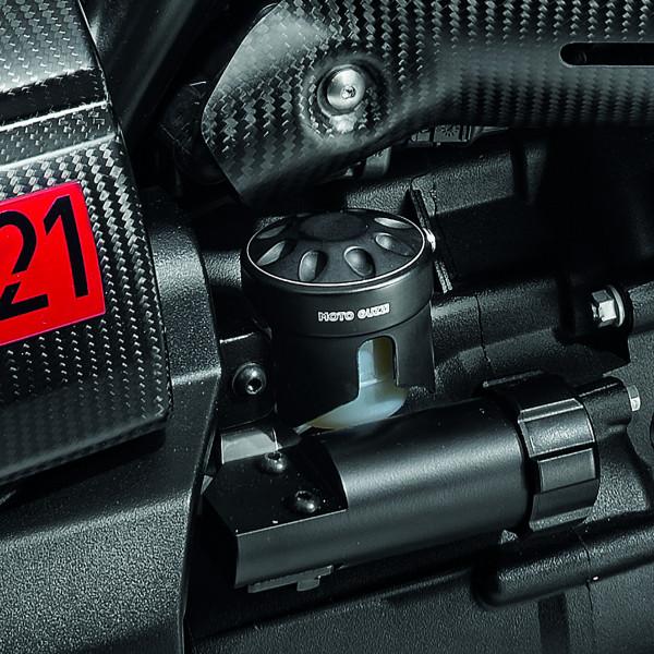 Abdeckung Bremsflüssigkeitsbehälter hinten, schwarz