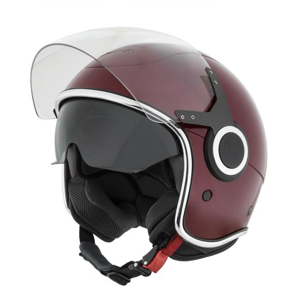 """Jet-Helm Vespa """"VJ"""" bordeaux 880 Gr.M"""