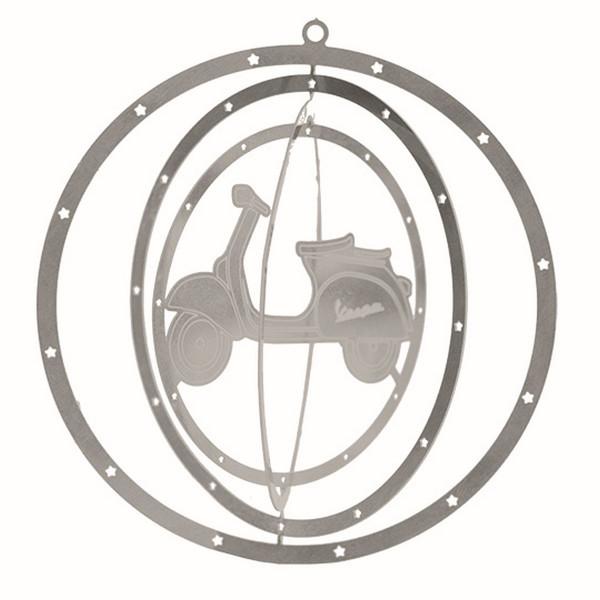 Weihnachtsdeko - Christbaumbehang 3D VESPA silber