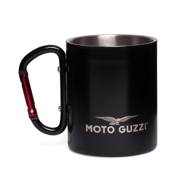 Tasse MOTO GUZZI Metall-Heferl schwarz