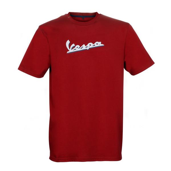 T-Shirt Vespa Herren GRAPHIC in rot Gr.S