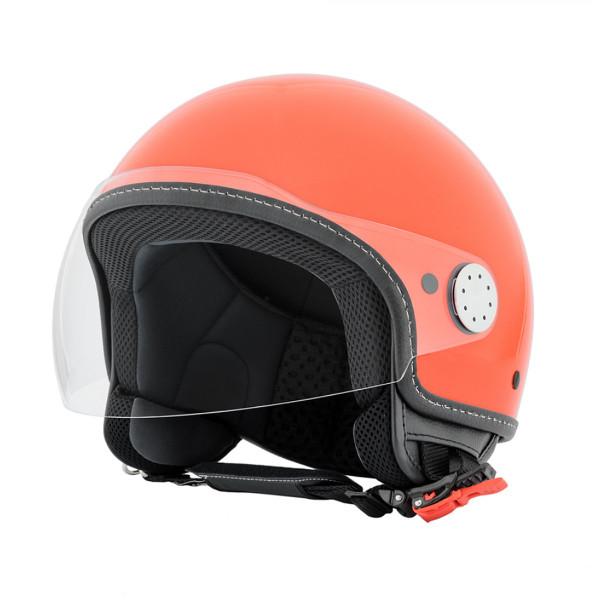 "Jet-Helm Vespa ""VISOR 2.0"", rosa corallo 889/A Gr.XS"