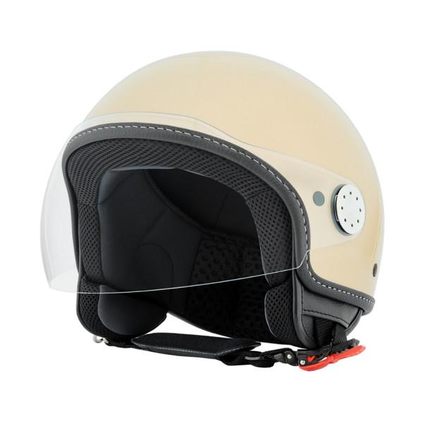 """Jet-Helm Vespa """"VISOR 2.0"""", beige eleganza 513/A Gr.S"""
