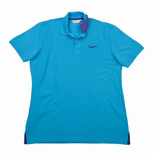 "Poloshirt VESPA Herren ""VESPA LOGO"" hellblau Gr.M"
