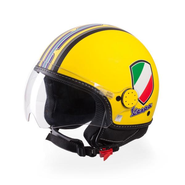 Jet-Helm Vespa V-Stripes gelb Gr. M