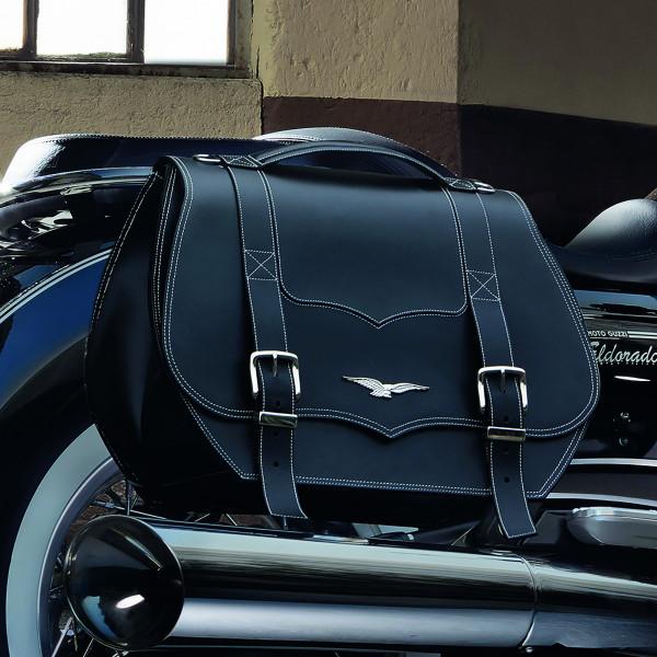 Koffersatz California 1400 Leder, schwarz