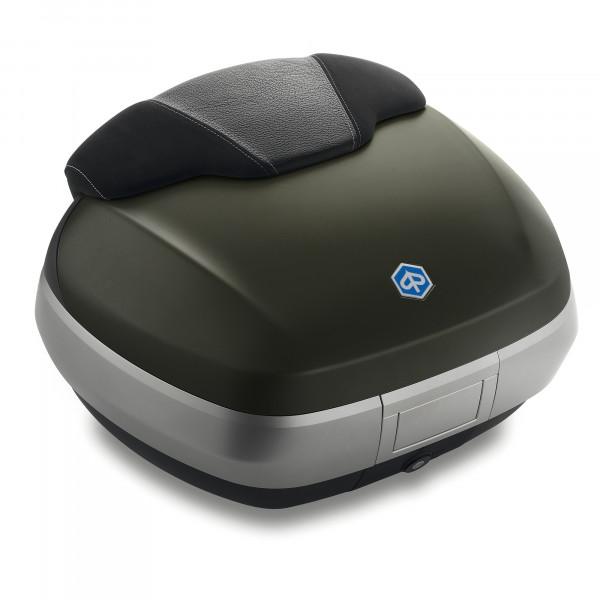 Topcase 50 Lit. Verde Opaco (333/A) MP3 500ie SPORT LT ABS E4 ab Bj. 2018-