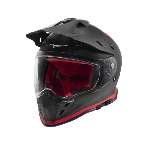 Helm Adven.V85TT schwarz M