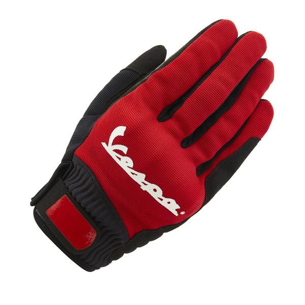 Handschuhe Vespa COLOR, rot Gr.S