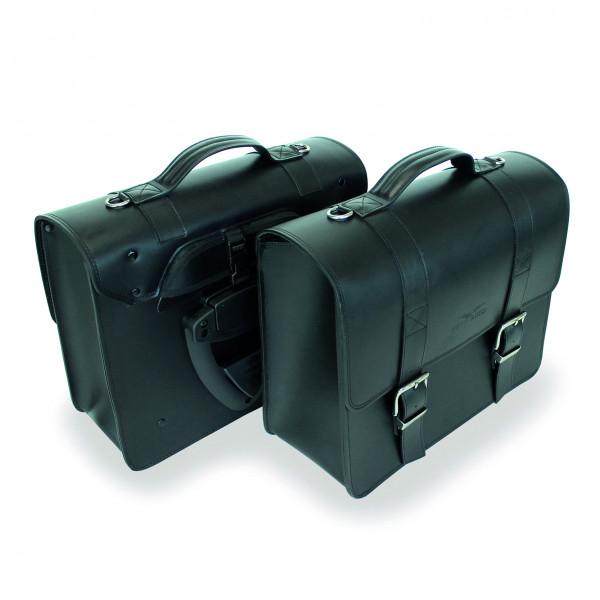 Packtaschen Leder schwarz V7 III/V9/Audace