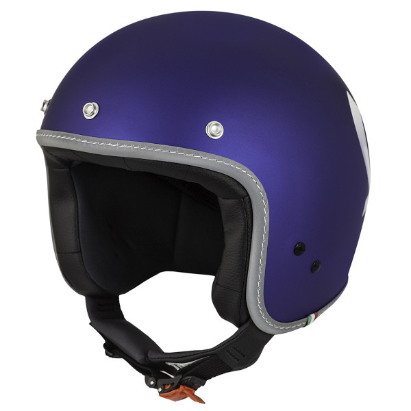 "Jet-Helm Vespa ""COLOR"" matt-blau Gr.M"