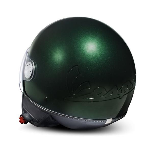 """Jet-Helm Vespa """"Visor 3.0"""" verde british 349/A Gr.L"""