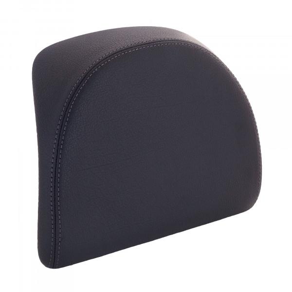 Rückenpolster schwarz mit grauer Naht für 32 Lit. Topcase MEDLEY 125/150ie ABS E4