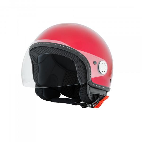 "Jet-Helm Vespa ""VISOR 2.0"", rosso vignola 880/A Gr.M"