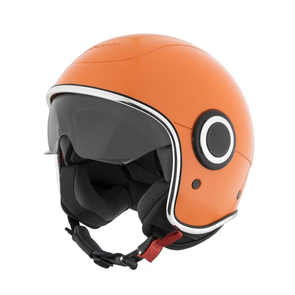"Jet-Helm Vespa ""VJ-1"" arancio tramonto 890/A Gr.M"
