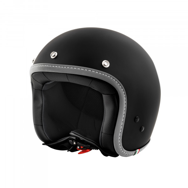 "Jet-Helm Vespa ""COLOR"" matt-schwarz Gr.M"
