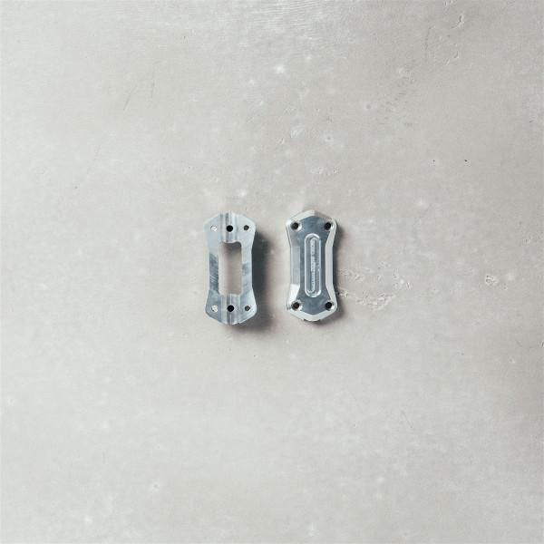 Lenkerabdeckung V9 Aluminium silber