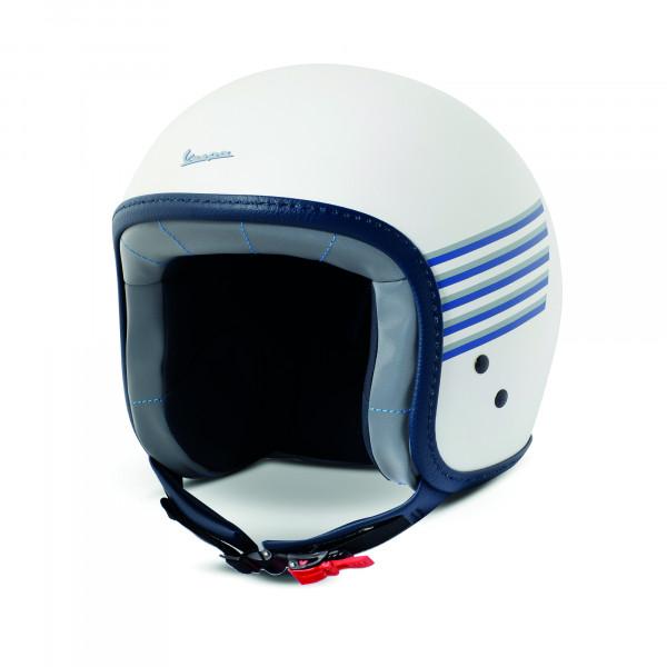 Jet-Helm Vespa GRAPHIC Weiß-Matt Gr.M