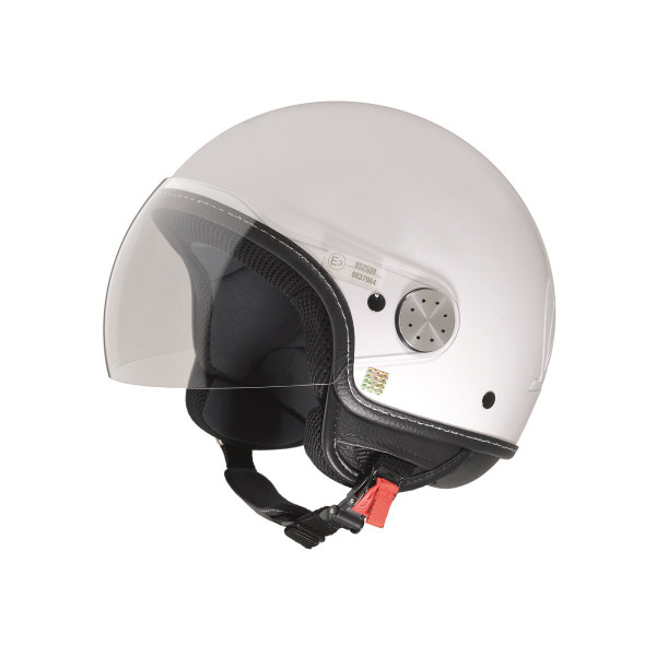 "Jet-Helm Vespa ""VISOR 2.0"", weiß Gr.M"