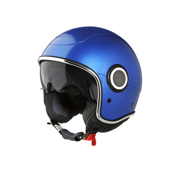 """Jet-Helm Vespa """"VJ-1"""" blu gaiola Gr.L"""