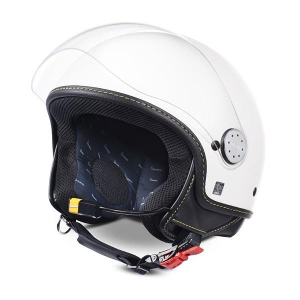 Jet-Helm Vespa Visor BT weiß 544 Super Tech Gr.S