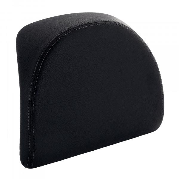 Rückenpolster schwarz mit blauer Naht für 32 Lit. Topcase MEDLEY