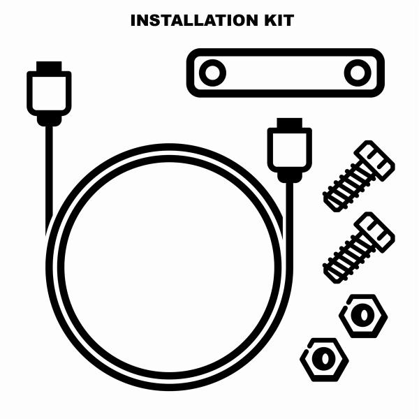 Bordelektrik Installationskit für Moto Guzzi Mia Multimedia Plattform