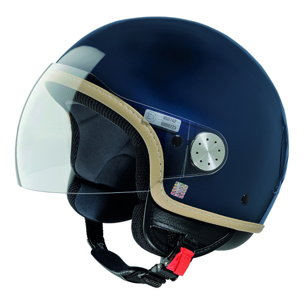 "Jet-Helm Vespa ""VISOR 2.0"", matt-midnight blue 282/A Gr.L"