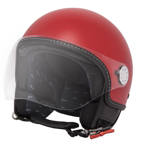 Jet-Helm VESPA VISOR 3.0 - rosso passione R7 (894)