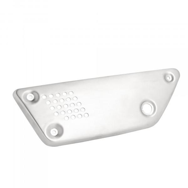 Seitendeckelset V9 ab Bj.2017- Aluminium silber
