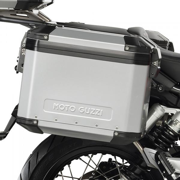 Koffersatz Moto Guzzi V85 TT Aluminium