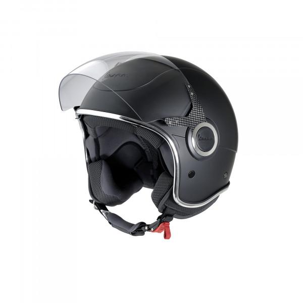 """Jet-Helm Vespa """"VJ"""" schwarz matt Gr.S"""