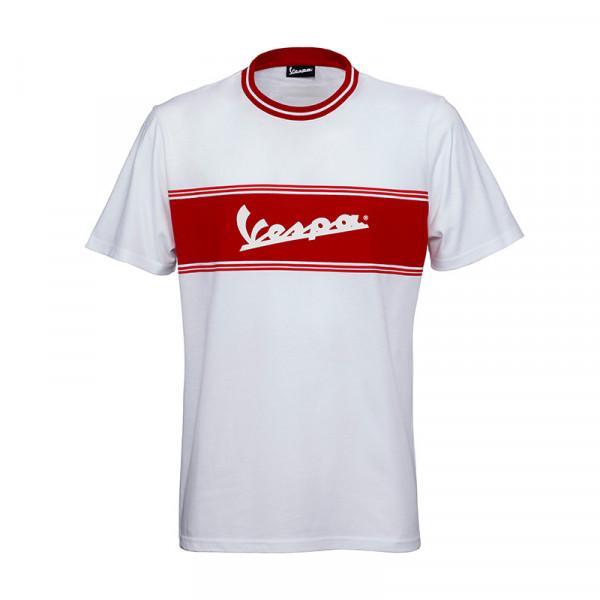 T-Shirt Vespa Racing Sixties - in weiß