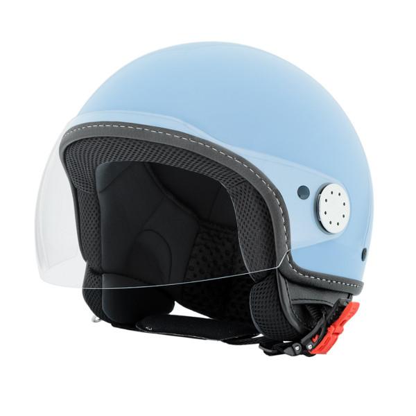 "Jet-Helm Vespa ""VISOR 2.0"", azzurro incanto 279/A Gr.XS"