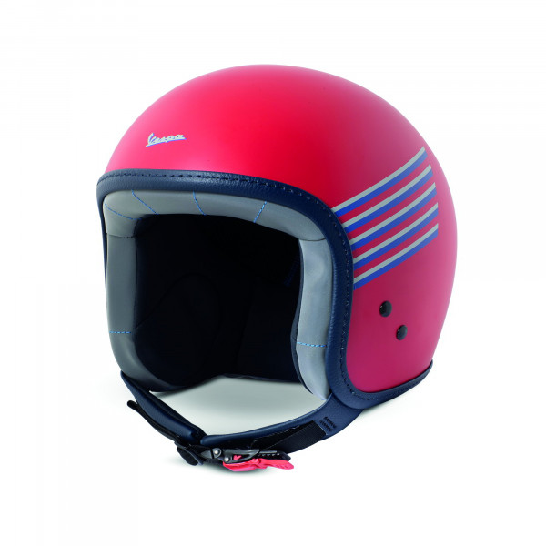 Jet-Helm Vespa GRAPHIC Rot-Matt Gr.S