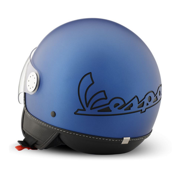 "Jet-Helm Vespa ""Visor 3.0"" blu energia 349/A Gr.XS"