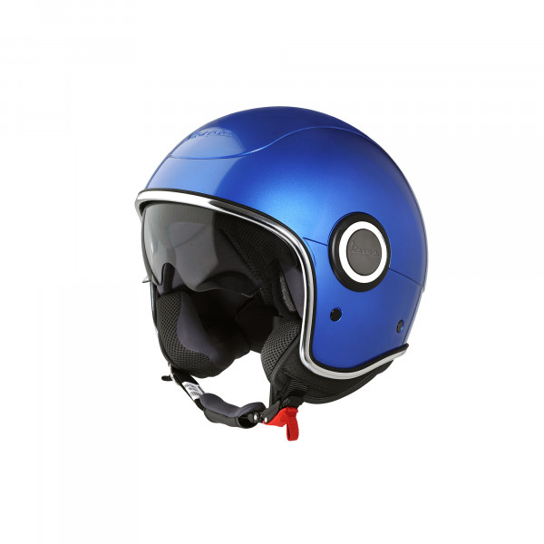 "Jet-Helm Vespa ""VJ-1"" blu gaiola Gr.XS"