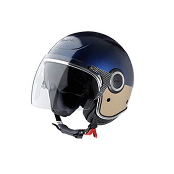 "Jet-Helm Vespa ""VJ"" blau/beige Gr.XL"