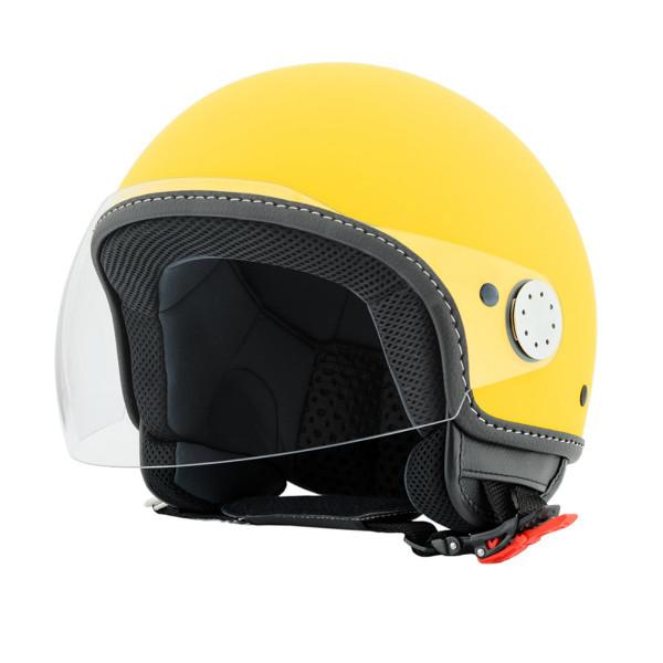"Jet-Helm Vespa ""VISOR 2.0"", giallo gelosia 974/A Gr.S"