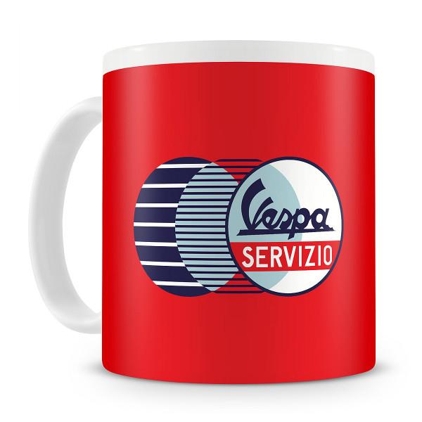 Häferl - VESPA Servizio rot