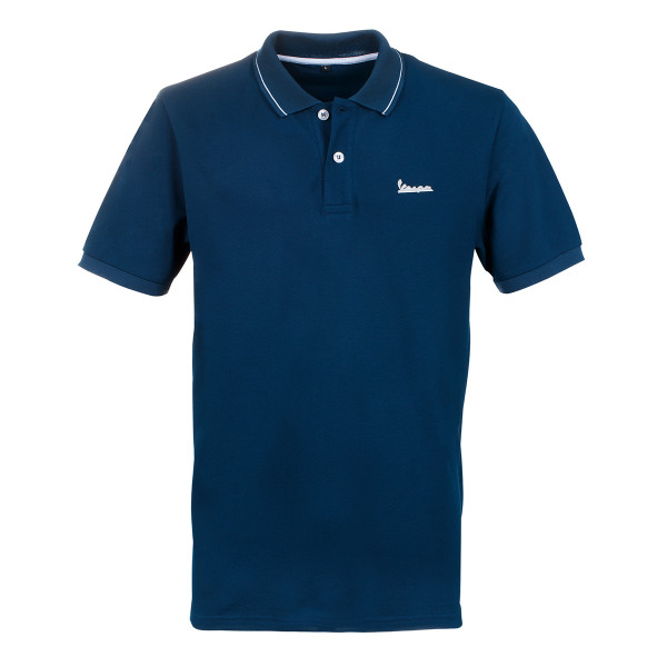 Polo-Shirt VESPA Herren GRAPHIC in dunkelblau Gr.S