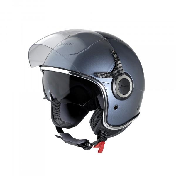 """Jet-Helm Vespa """"VJ"""" grigio dolomiti Gr.L"""