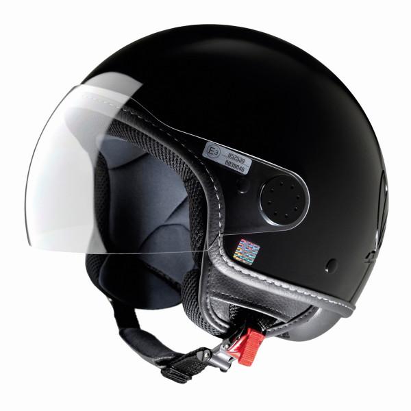 "Jet-Helm Vespa ""VISOR 2.0"", schwarz Gr.XS"